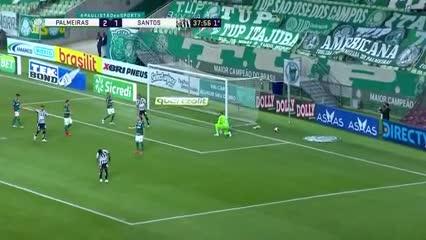 La derrota del Santos ante Palmeiras