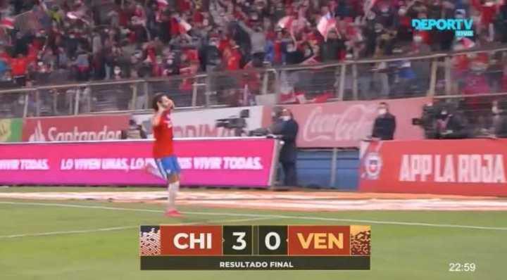 El resumen de Chile 3 - Venezuela 0