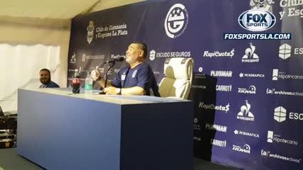 Maradona bromeó con Fatura Broun