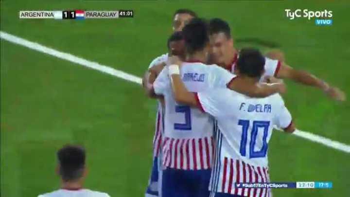 El 2 a 1 de Paraguay a Argentina