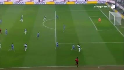 Roberto Pereyra abrió la cuenta para Udinese ante Atalanta
