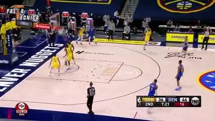 La actuación de Campazzo ante los Warriors