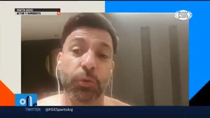 Martín Bossi eligió entre Messi y Maradona