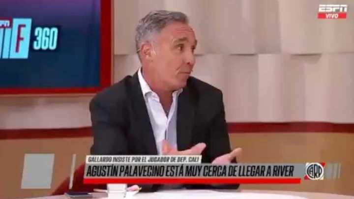 Espina habla de Palavecino y Gallardo