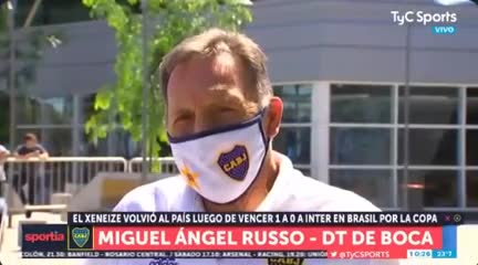 Russo y su apoyo a Sabella