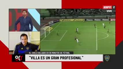 La polémica frase de Delgado sobre la situación de Villa
