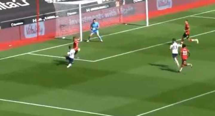 Kane se sacó las ganas y metió el quinto de Tottenham
