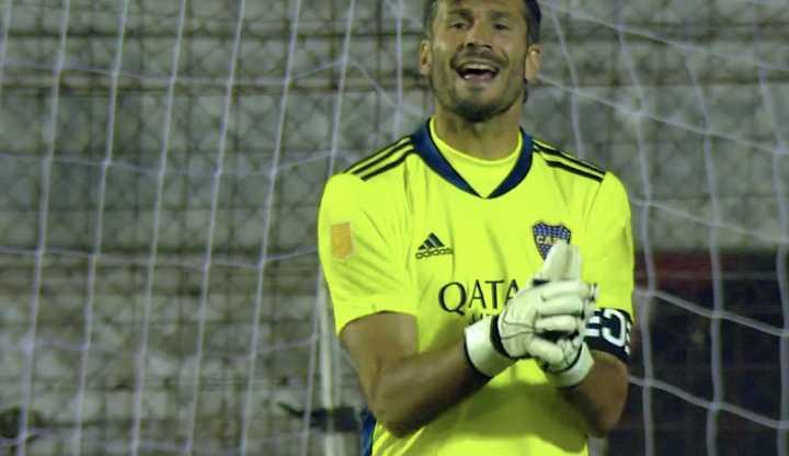 García vuelve a salvar el arco de Boca