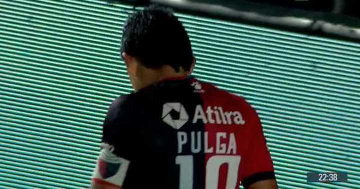 El Pulga tuvo el 3 a 1 de Colón