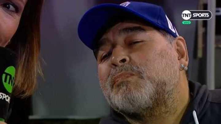 La palabra de Maradona en la previa