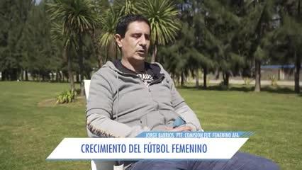 Jorge Barrios y la actualidad del fútbol femenino en Argentina
