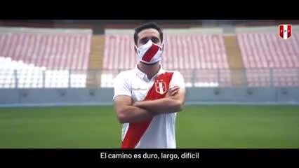 El mensaje de la Selección peruana en la pandemia