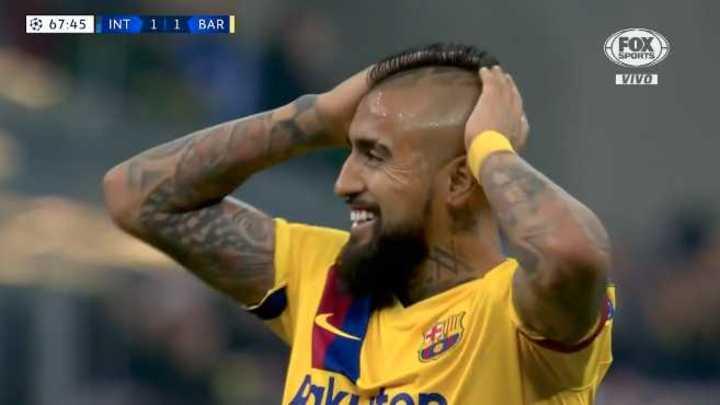 Barcelona llegó con Vidal