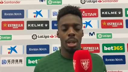 Iñaki Williams denunció insultos racistas