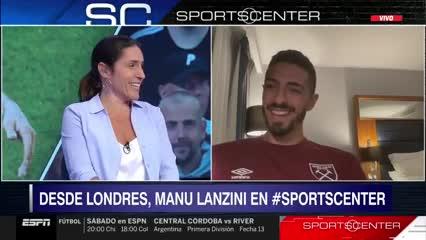 """Lanzini: """"Me encantaría volver a River"""""""