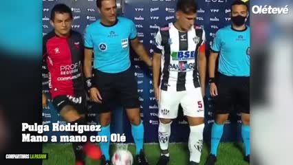 El Pulga le contó a Olé sobre los caños a los árbitros