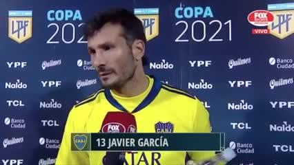 Javier García le apuntó a la conducta de Andrada