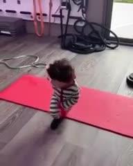 Leo, Ciro y un tierno entrenamiento