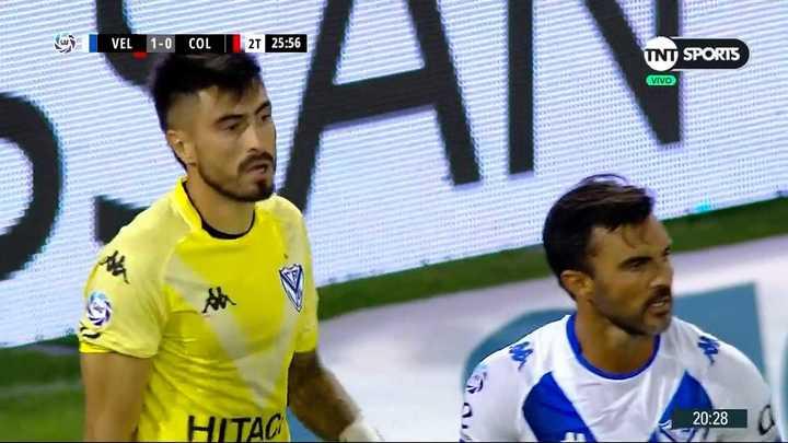 Hoyos le sacó el gol al Pulga Rodríguez