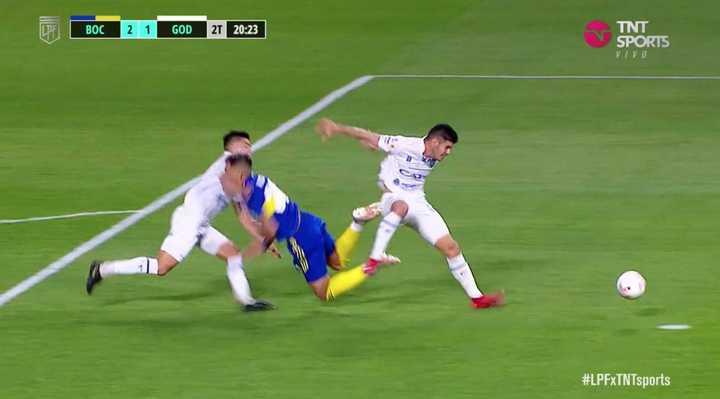 Penalazo contra Vázquez