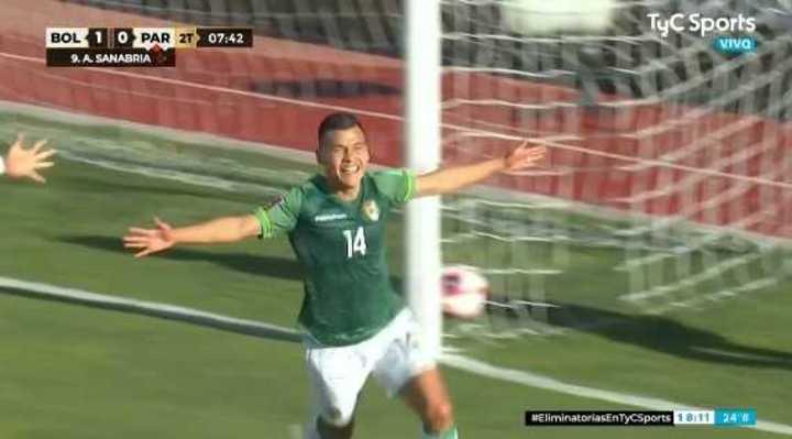 Bolivia se puso 2 a 0