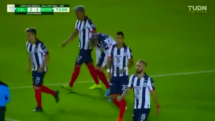 Maxi Meza lo dio vuelta para Monterrey