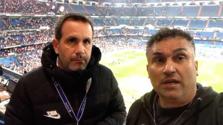 Olé desde el Bernabéu