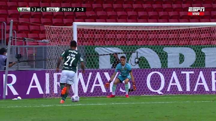 Se lo perdió Palmeiras