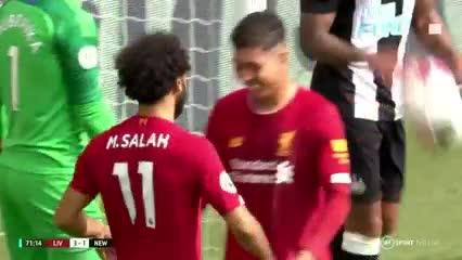 ¡Apareció Salah!