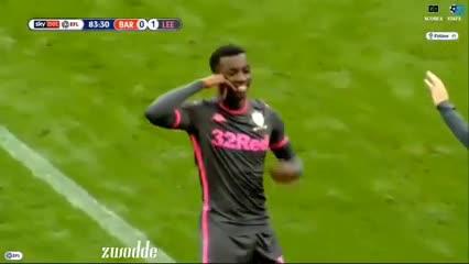 El 1-0 del Leeds al Barnsley