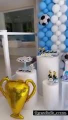 La terrible mesa dulce en los festejos del Dibu