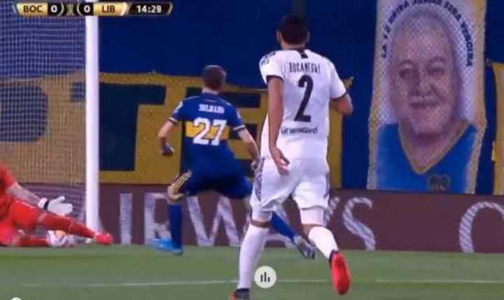 Los goles que se perdió Boca