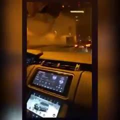 Messi escuchando Los Palmeras en su auto