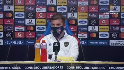 Mariano Herrón, ayudante de Russo, habló de la victoria de Boca en Paraguay