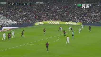 Casemiro volvió a marcar y poner, de nuevo, arriba al Real Madrid en el marcador