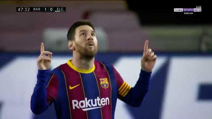 El resumen de la victoria de Barcelona ante Elche