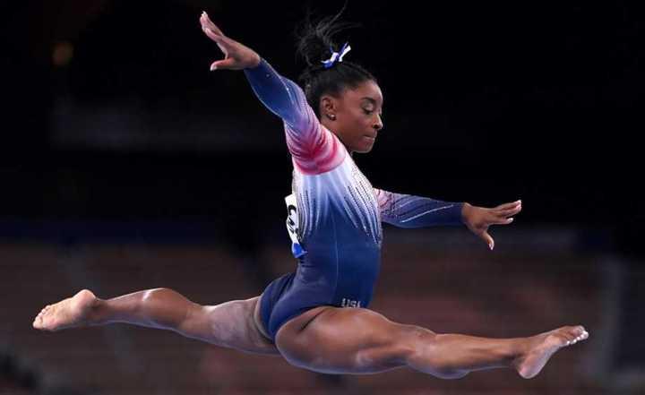 Simone Biles, medalla de bronce en viga