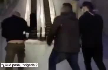 Ultras del Espanyol y Barcelona, a las piñas en un hospital