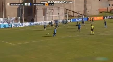 El 1-1 entre Argentino (Q) y San Telmo