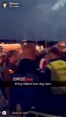 Problemas para Haaland en Noruega