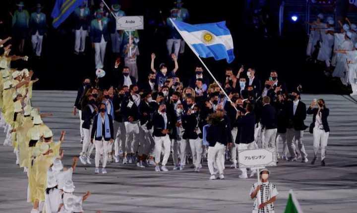 El pogo argentino en el desfile