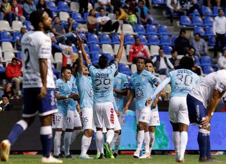El Pachuca de Martín Palermo goleó 4-0 al Puebla