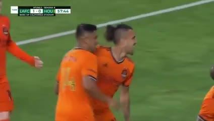 El gol de Urruti para Houston