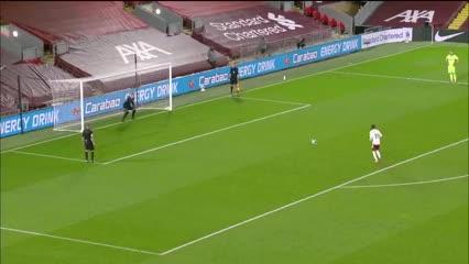 La definición por penales de Arsenal - Liverpool