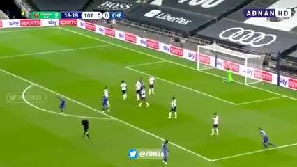 Werner abrió el marcador ante Tottenham