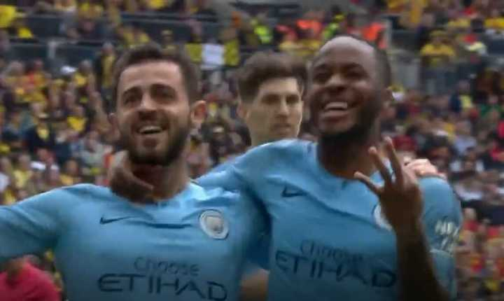 Sterling marcó el quinto del City