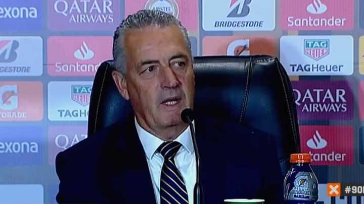 "Alfaro: ""Me siento orgulloso de haber estado en Boca"""