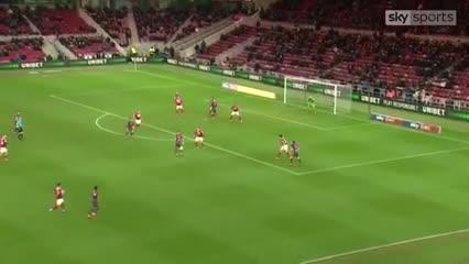 Klich convirtió el 1-0 del Leeds ante el Middlesbrough