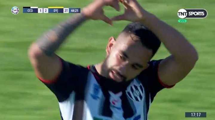 Jonathan Herrera descontó para Central Córdoba