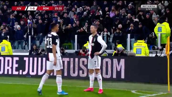 Cristiano marcó el primero de la Juve